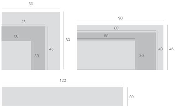 Tile Surrounds Size Guide